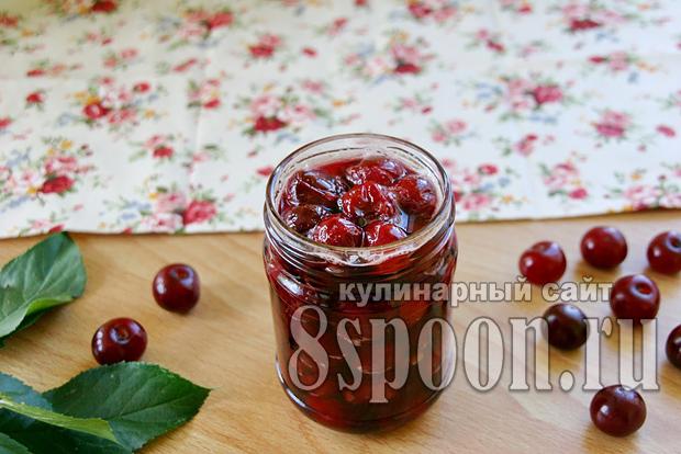 Варенье из вишни без косточек фото_6
