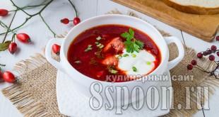 Свекольник горячий: рецепт классический