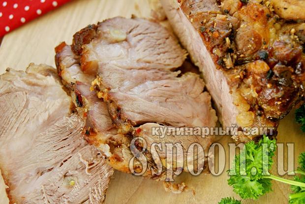 мясо в пиве в духовке