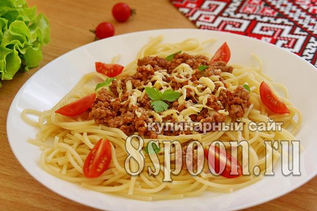 макароны с фаршем фото 9