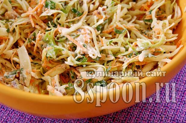 салат с капустой и сардиной фото 5