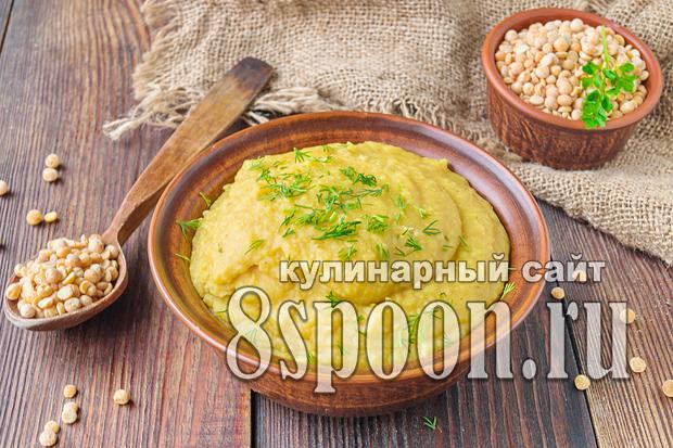 Гороховая каша: рецепт пошаговый с фото
