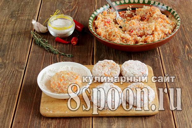 котлеты в духовке пошаговый рецепт с фото _8