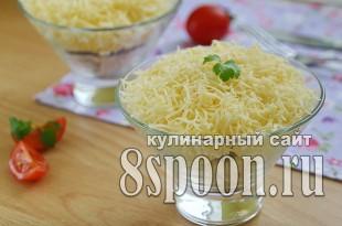 Салат из куриной грудки простой и вкусный  _04