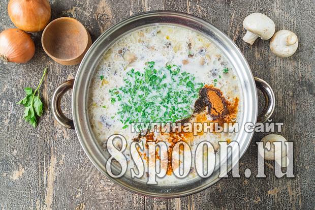 Суп из плавленых сырков рецепт с фото_06