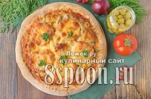 Тесто для пиццы на кефире без дрожжей