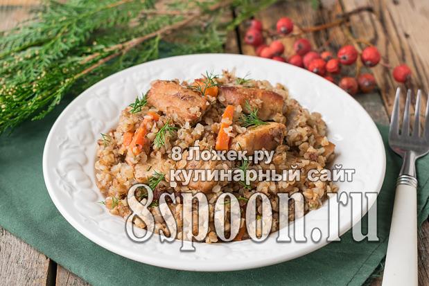 гречка по-купечески со свининой фото