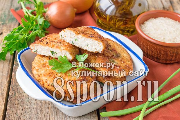 Котлеты с рисом и фаршем фото