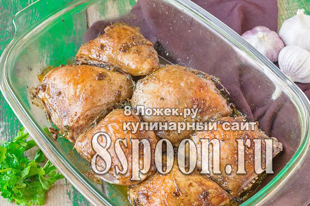 Бедра куриные запеченные в духовке фото 12