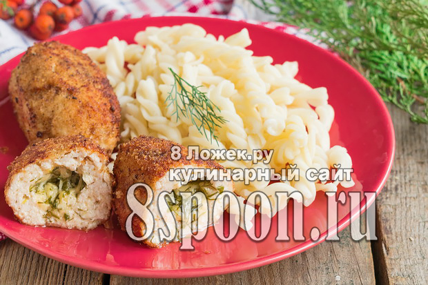 Котлеты с сыром внутри: рецепт с фото