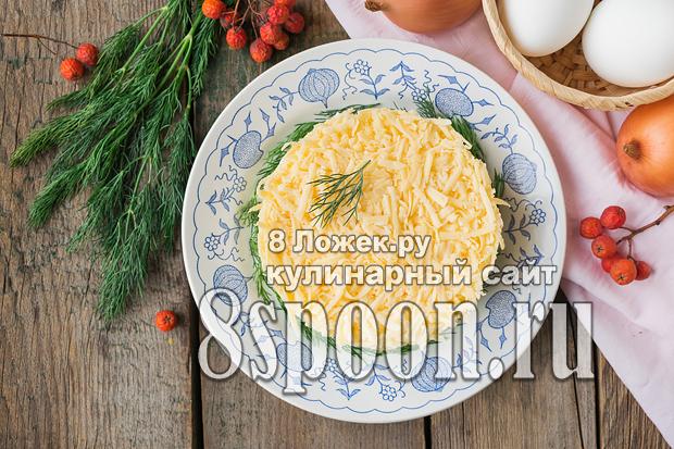 Салат из скумбрии консервированной фото 3