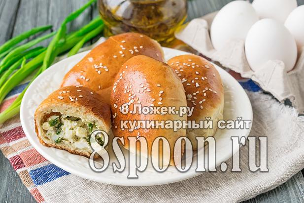 Пирожки с яйцом и зеленым луком фото_02