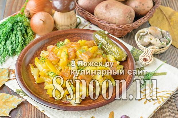 Жареная картошка с салом фото_02