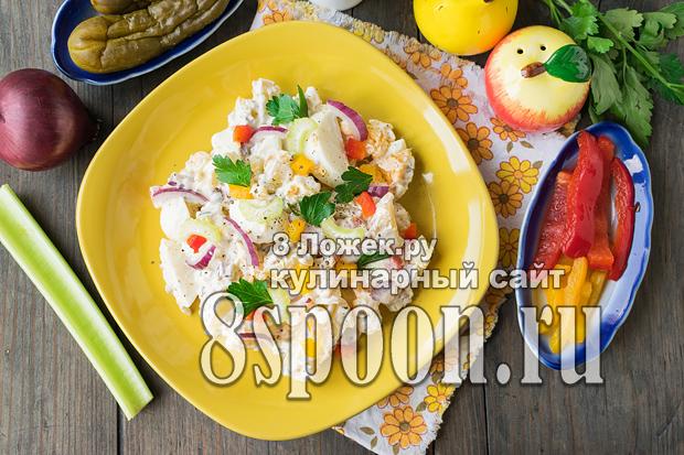 Картофельный салат фото_3