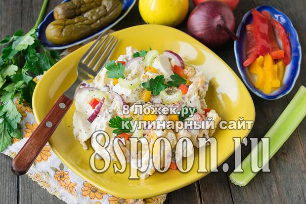 Картофельный салат фото_4
