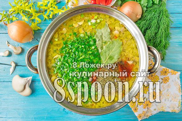 Грибной суп из вешенок фото_04