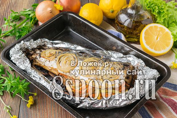 Рыба запеченная в фольге в духовке фото_04