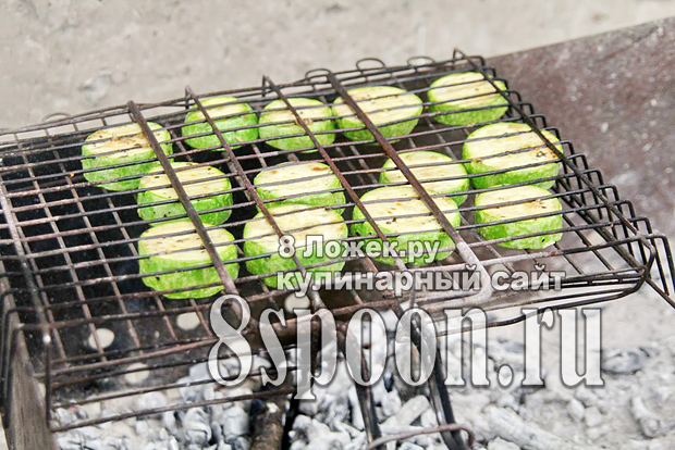 Кабачки на мангале рецепт с фото_4