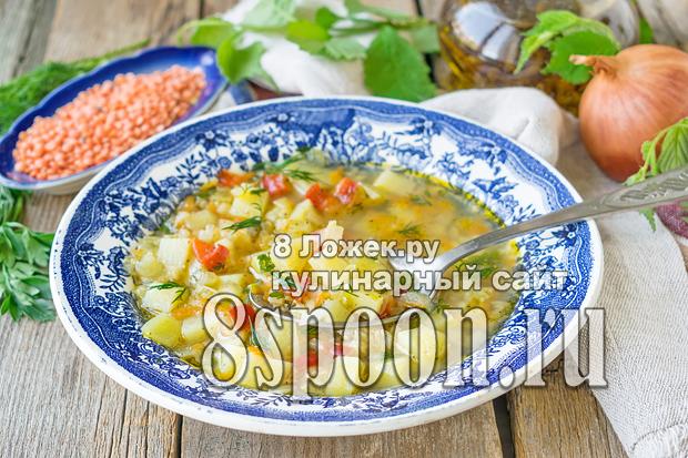 Суп с чечевицей фото_06