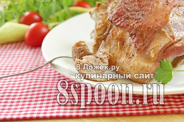 Бедро индейки в духовке фото_03