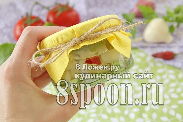 Маринованный чеснок на зиму зубчиками фото_09