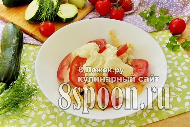 Салат из жареных кабачков фото_10