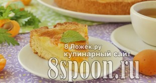 Заливной пирог с абрикосами фото_03