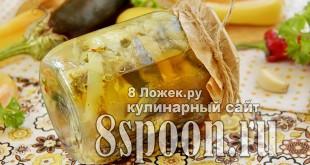 Закуска из баклажанов на зиму фото_01