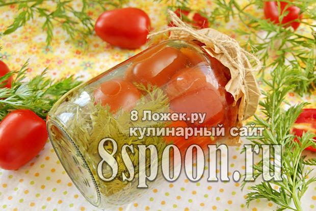 помидоры с морковной ботвой 1