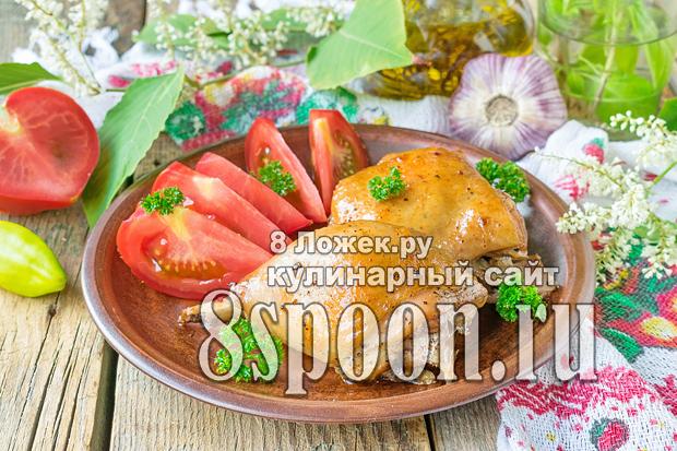 Курица в пакете для запекания в духовке фото, фото рецепт Курицы в пакете для запекания в духовке