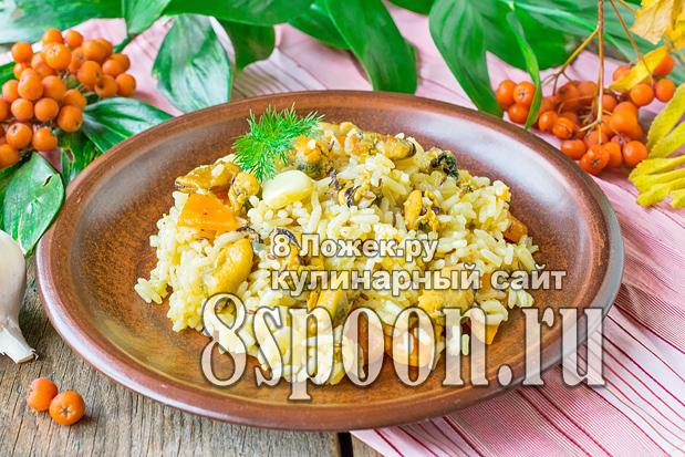 Рис с морепродуктами фото_8