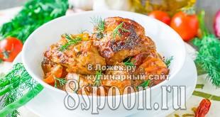Чахохбили из курицы в мультиварке фото рецепт