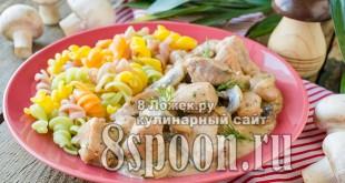 Свинина с грибами в сметанном соусе фото, фото рецепт свинины на сковороде с грибами в соусе из сметаны