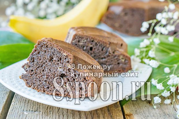 Пирог с бананами фото, фото рецепт бананового пирога