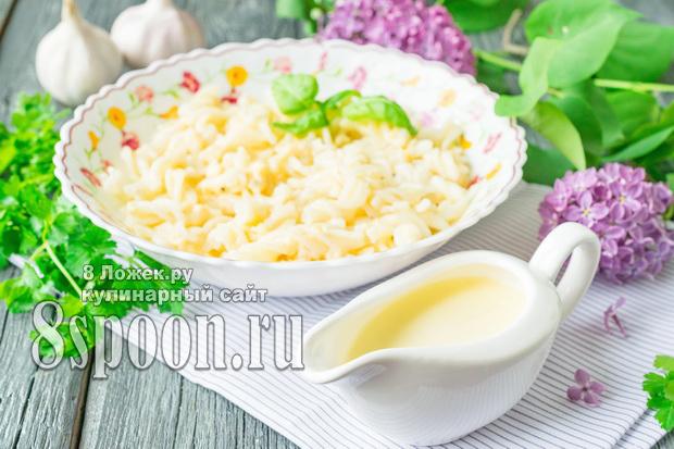 Сметанный соус для макарон фото