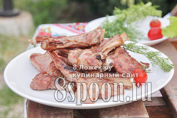 Ребрышки на мангале фото, фото рецепт ребрышек на мангале