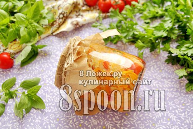 Солянка из капусты на зиму фото