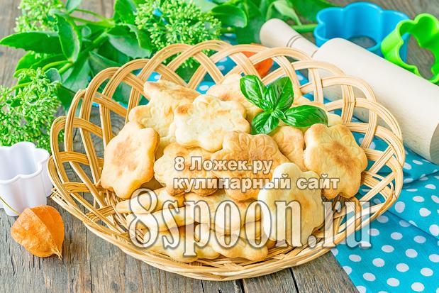 Печенье из творога и сметаны фото