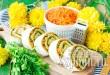 Рулет из лаваша с сыром и корейской морковкой фото 11