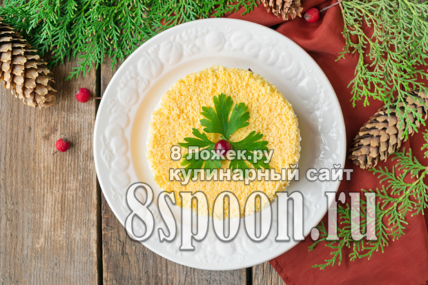 Салат из печени трески рецепт с фото очень вкусный