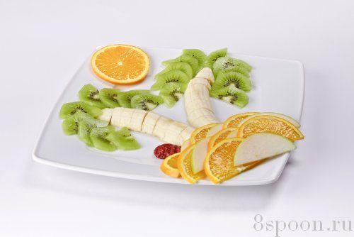 фруктовой нарезки.