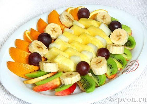 стол на нарезки фото фруктовые