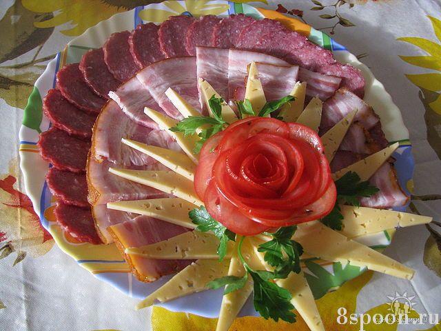 мясное ассорти оформление фото