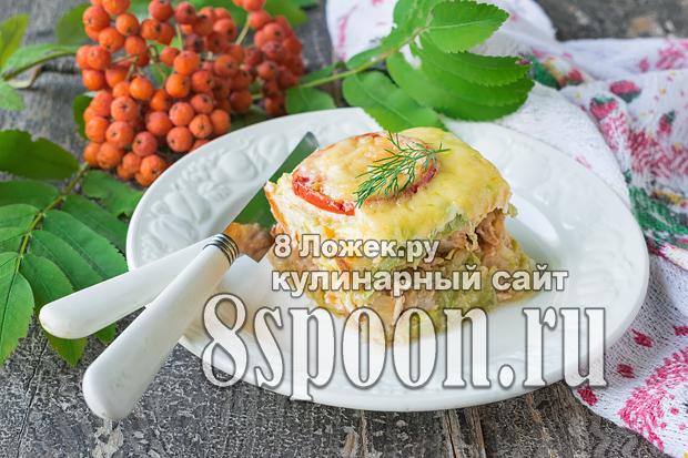 Запеканка из кабачков в духовке фото