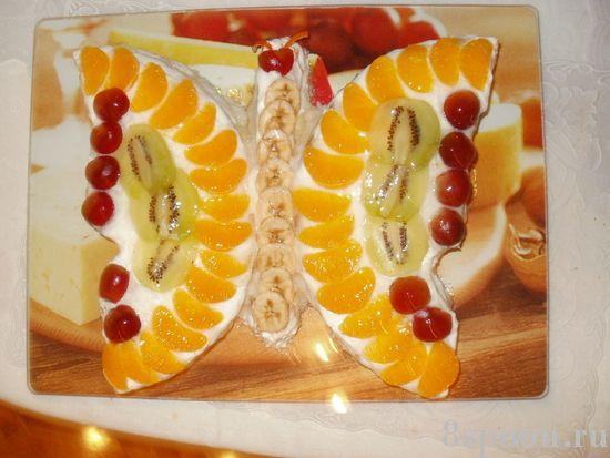 Простое оформление тортов с фото. .  Красивые торты это просто!  Больше идей оформления тортов в домашних условиях...