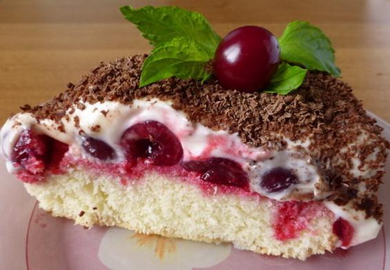 Вишневый пирог «Наслаждение»1