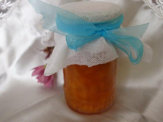 Персиковое варенье с коньяком и корицей