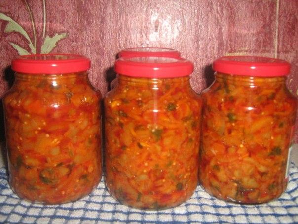 консервирование кубанский салат