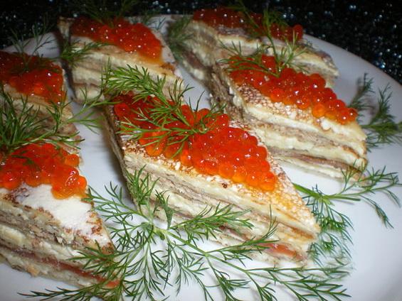 Блины с красной рыбой рецепт пошагово
