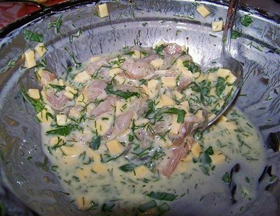 Куриные оладьи с сыром на кефире - 2_новый размер